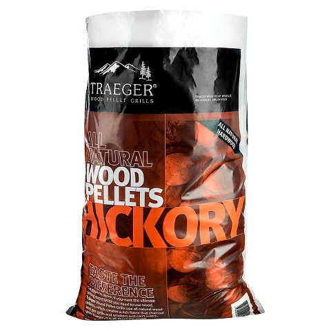 Traeger Hickory Wood Pellets (20 Pounds)