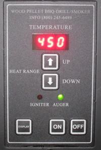 Timber Ridge Pellet Grill Controlle