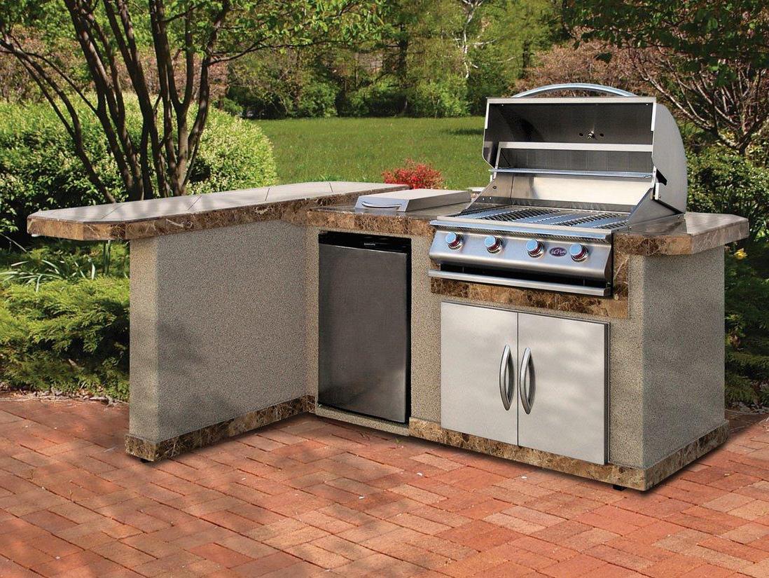 Outdoor Kitchen Kit | Cal Flame Lbk 830 Outdoor Kitchen Kit