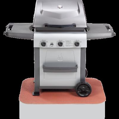 The Original BBQ Grill Pad - Rectangular