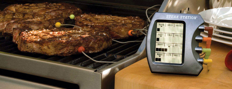 Steak Station - Digital Meat Thermometer - The Green Head