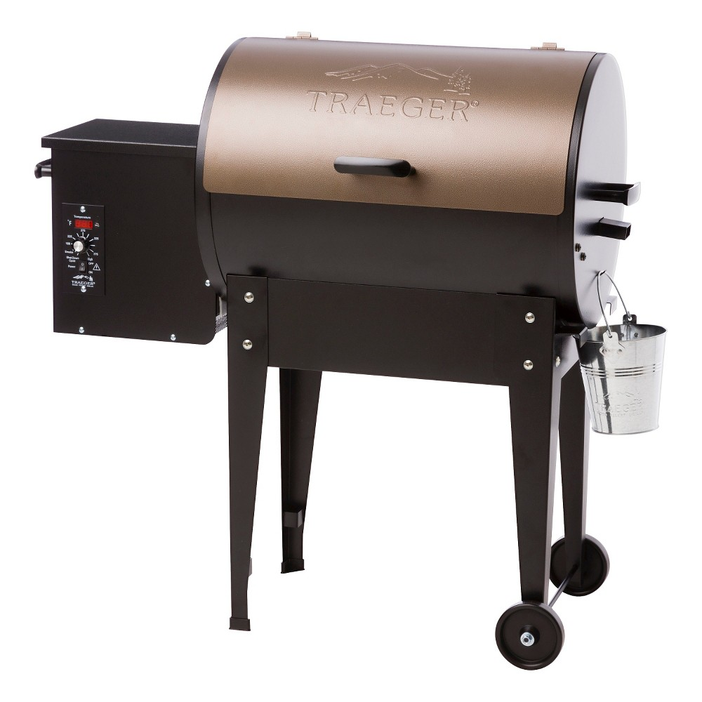 Traeger Junior Elite Wood Pellet Grill, Black