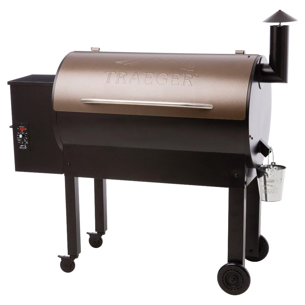Traeger Texas Elite Wood Pellet Grill, Black