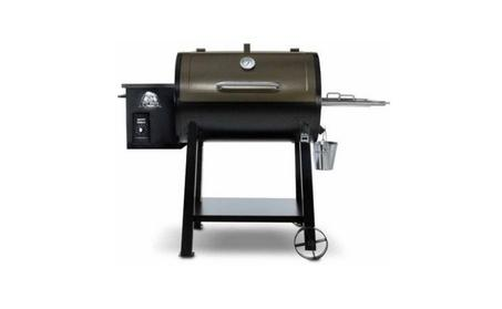 Pit Boss 440D Wood Fired Pellet Grill w/ Flame Broiler ...