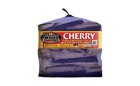 Barbeque Wood Flavors 60062 Cherry Logs 25 lbs