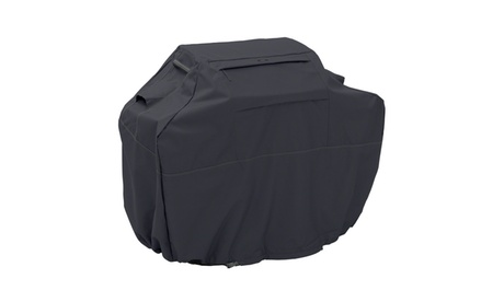 Classic Accessories Ravenna Patio BBQ Grill Cover, Black