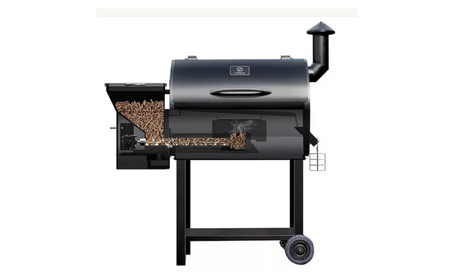 Z Grills Wood Pellet Smoker 8 in 1 Grill with Electric Digital Control