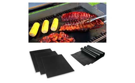 3 Pack Easy BBQ Grill Mat
