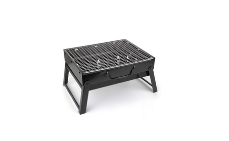 Portable Mini Grill for Outdoor barbecue BBQ Camping Small Size Black