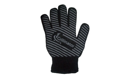 Resistant Authentic BBQ Grillinator Gloves Heat Oven Gloves