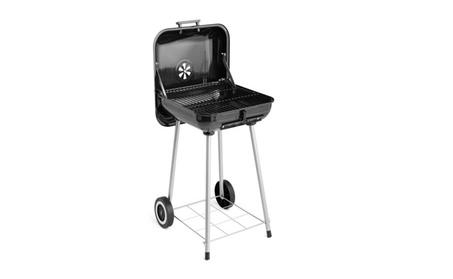 Unique Grill 17.5″ Charcoal BBQ Wheels 16-burger