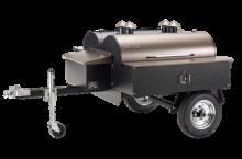 Traeger COM190 Double Commercial Trailer Wood Pellet Grill Review