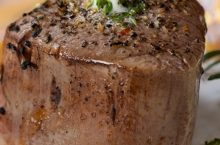 Pellet Grill Perfect Filet Mignon