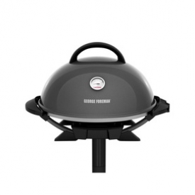 Indoor/Outdoor Gun Metal Electric Grill