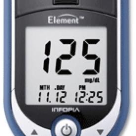 Infopia Element Autocode Blood Glucose Meter
