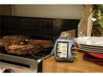 Charcoal Companion CC4073 Steak Station Thermometer