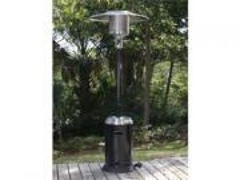 Fire Sense Commercial Grade Patio Heater - Hammer Tone Bronze