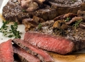 Pellet Grill Ribeye Steak