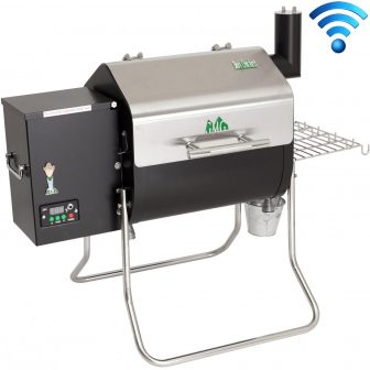 Green Mountain Grills Wi-Fi Enabled Davy Crockett Portable Pellet Grill With Bonus...