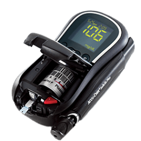 The Accu-Chek Compact Plus Blood Glucose Meter