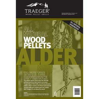 Traeger 20 Lb. Natural Hardwood Pellets - Alder