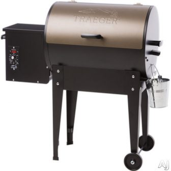 Traeger Junior Elite TFB29LZA 39 Inch Freestanding Wood Pellet Grill with 290...