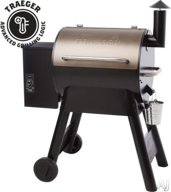 Traeger Pro Series TFB57P 40 Inch Freestanding Wood Pellet Grill with 572...