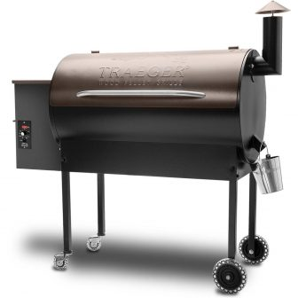 Traeger Texas Elite Pellet Grill On Cart - Bronze